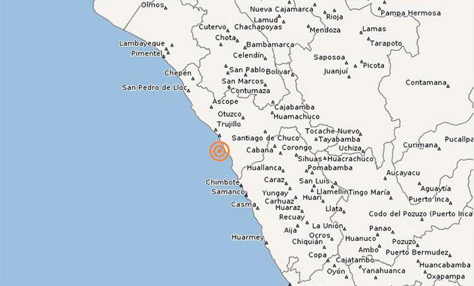 La Libertad soportó sismo de 4.1 grados