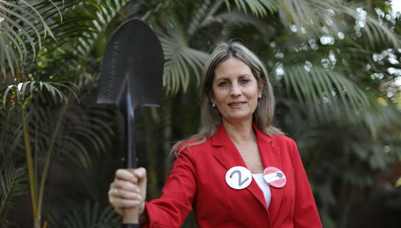 María del Carmen Alva Prieto fue candidata al Congreso por Acción Popular. (Foto: GEC)