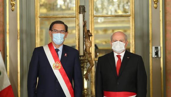 Pedro Cateriano se pronunció luego de que el pleno del Congreso le negara el voto de confianza. (Foto: Presidencia)