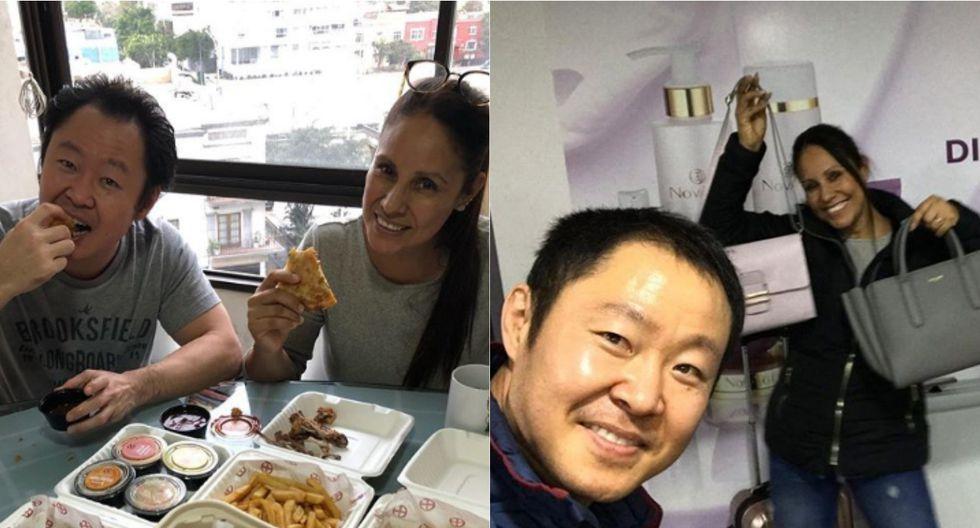 Erika Muñoz Regis es la esposa de Keiko Fujimori desde la tarde del martes 30 de junio. | Foto: Instagram.