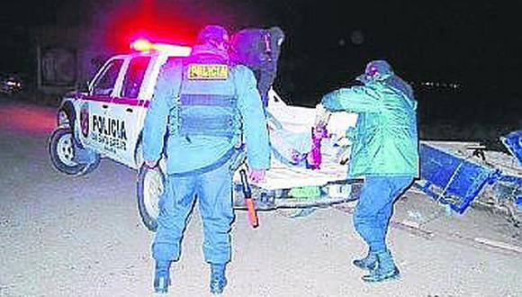 Atropellan y matana un anciano en el distrito de Atuncolla