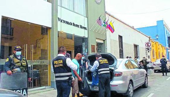 Nueve personas más que son muy cercanas al empresario también son seguidas por la Policía. Dos de ellas son sus exconvivientes y otras dos fueron investigadas por narcotráfico.