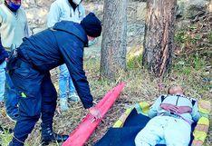 Delincuentes asaltan a joven y lo arrojan de puente ferroviario desde una altura de 20 metros en Huancayo