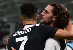 Juventus vs. Milan: Rabiot se lució con golazo para el 1-0 tras correr más de 50 metros (VIDEO)