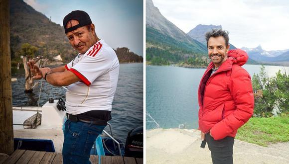 """Sammy Pérez y Eugenio Derbez son amigos desde hace muchos años y la fama de Pérez se dio luego de """"No se aceptan devoluciones"""". (Foto: Instagram @ederbez / @sammyperez_xhderbez)"""