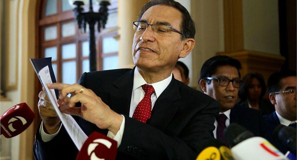 Juristas consideran inconstitucional el proyecto de Martín Vizcarra