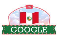 Google dedica un doodle al Perú como homenaje por su bicentenario