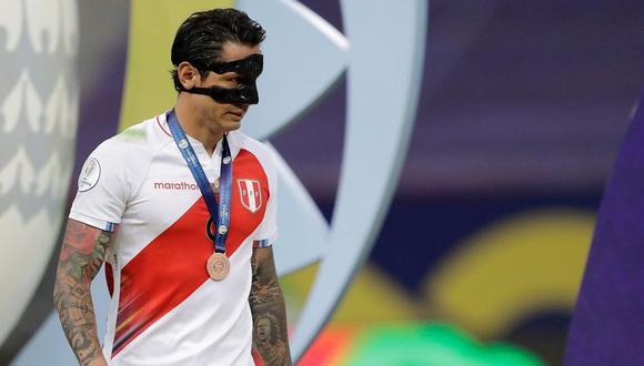 Gianluca Lapadula fue el máximo anotador de Perú en la Copa América con tres goles. (Foto: EFE)