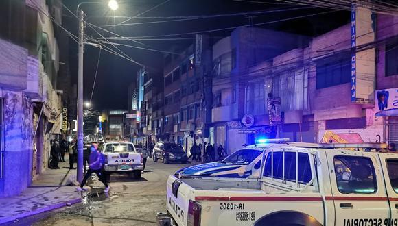 La Policía Nacional hizo un plan cerco, sin embargo, no pudo capturar a los delincuentes. (Foto: Difusión)
