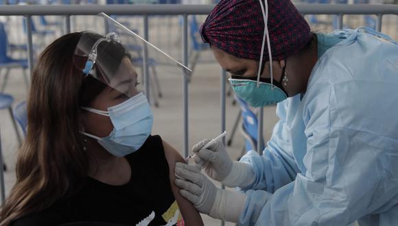 Conoce a continuación todos los detalles sobre la vacunación que se viene realizando a nivel nacional. La inmunización está avanzando rápido en el Perú.  (Foto: Jessica Vicente/@photo.gec)