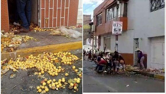 Comerciantes atacan la vivienda del alcalde de Cerro Colorado (VIDEO)