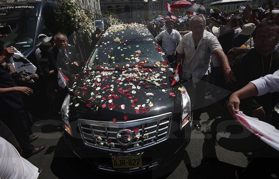 Alan García: Restos de expresidente fueron cremados en cementerio de Huachipa (VIDEOS y FOTOS)