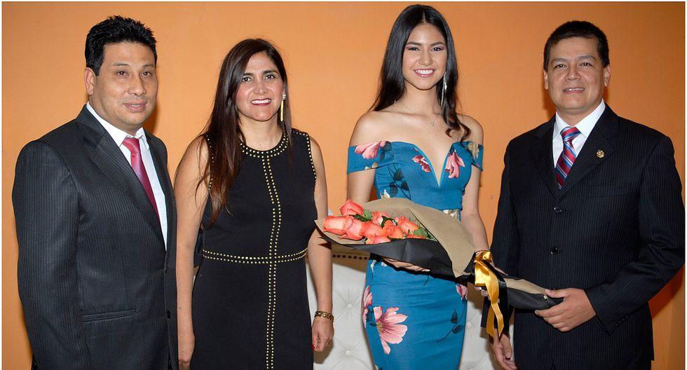 Karla Torres es la reina de la fiesta de las flores