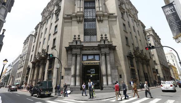 El indicador S&P/BVL Perú General, el más representativo de la bolsa, subía un 0.70%. (Foto: GEC)
