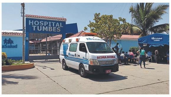 Tumbes podría a pasar a cuarentena por la grave situación de los pacientes COVID-19.