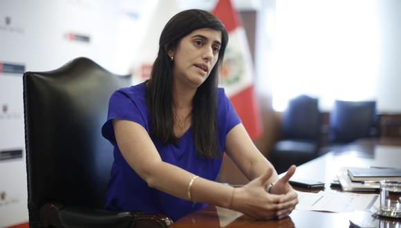 El pleno del Congreso votó en contra de la moción de censura contra la ministra de Economía, María Antonieta Alva. (Foto: GEC)