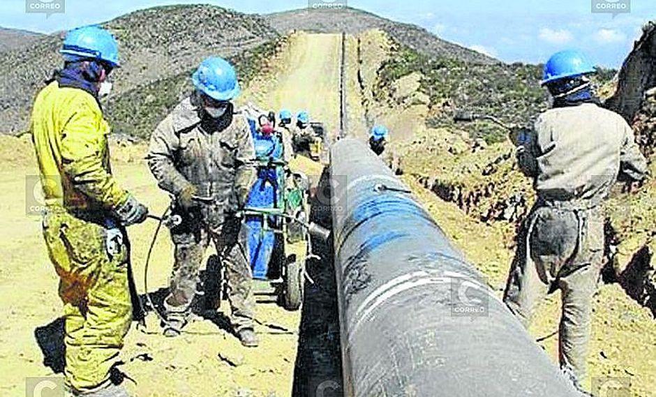 MEM: El gasoducto del sur recién sería entregado en concesión en el 2021