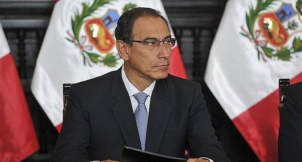 Presidente Martín Vizcarra descartó cierre del Congreso