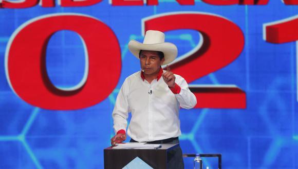 """""""Vamos a estatizar todos los recursos estratégicos del Estado porque son del pueblo y el país debe ser soberano con sus recursos"""", señaló Pedro Castillo. (Foto: GEC)"""