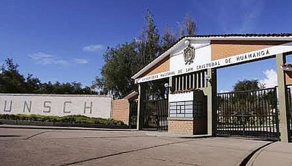 Rector de la Unsch reconoce que se revertirá presupuesto institucional