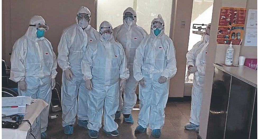 COVID-19: médicos denuncian que no están equipados
