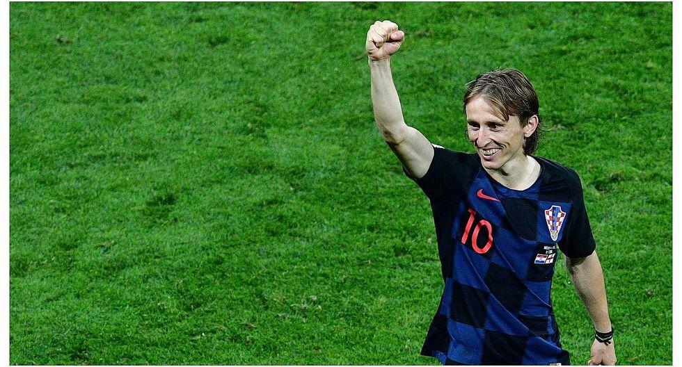 Luka Modric revela promesa que cumplirán jugadores croatas si ganan el Mundial