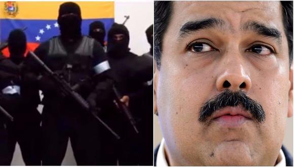 "Grupo armado lanza advertencia a Nicolás Maduro: ""Respondamos balas con balas"" (VIDEO)"