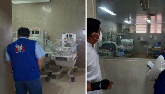 Defensoría del Pueblo sostiene que urgen acciones para garantizar  atención adecuada a recién nacidos en hospitales de Loreto. Foto: Defensoría