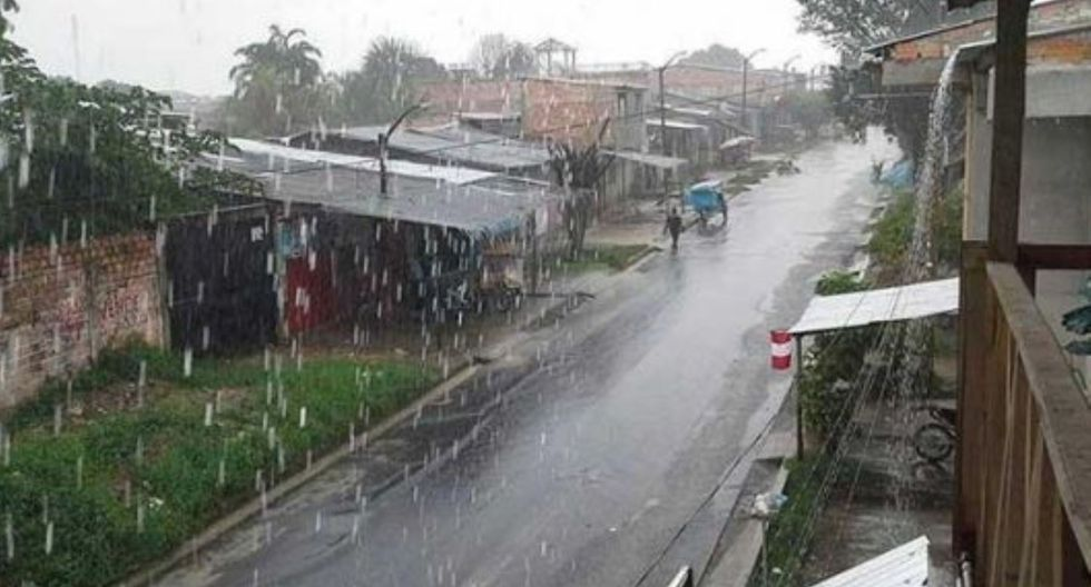 Según Senamhi, en ocho provincias de San Martín se registrarán lluvias de moderada a fuerte intensidad, acompañadas de descargas eléctricas y ráfagas de viento en la selva norte.