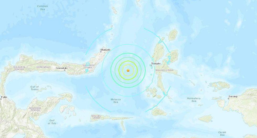 Alerta por posible tsunami tras sismo de magnitud 7.0 en Indonesia