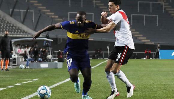 Luis Advíncula fue titular y jugó 62 minutos ante River Plate. (Foto: Boca Juniors)