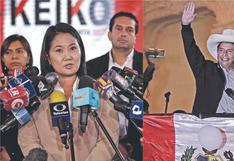 Resultados ONPE EN VIVO: Diferencia entre Pedro Castillo y Keiko Fujimori es de 49,420 votos