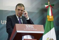 México: Canciller Marcelo Ebrard buscará la candidatura presidencial en 2024