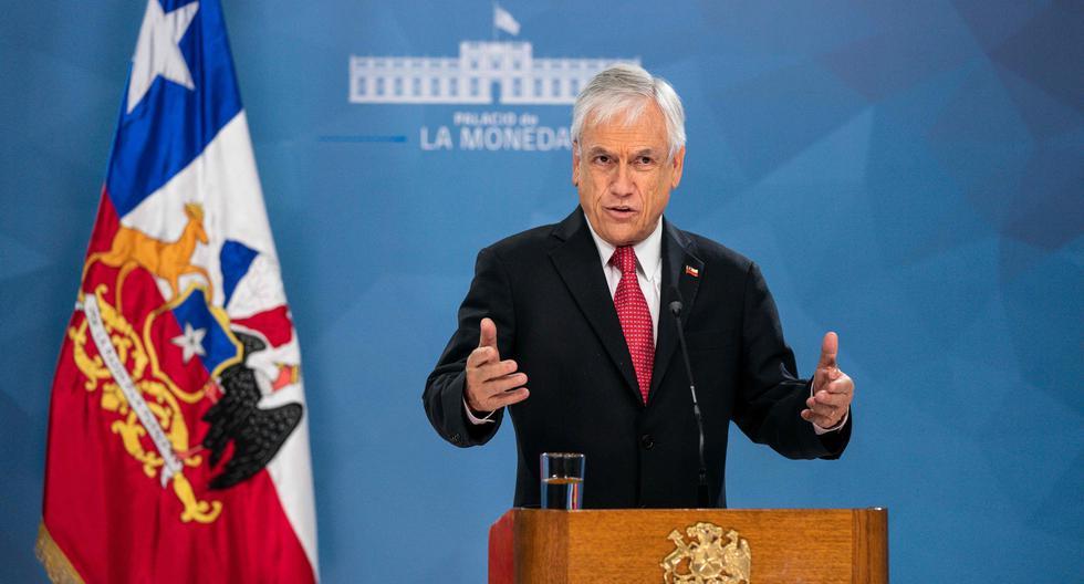 Imagen del presidente de Chile, Sebastián Piñera. (AFP).