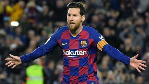 Lionel Messi tiene contrato con el FC Barcelona hasta junio del 2021. (Foto: AFP)