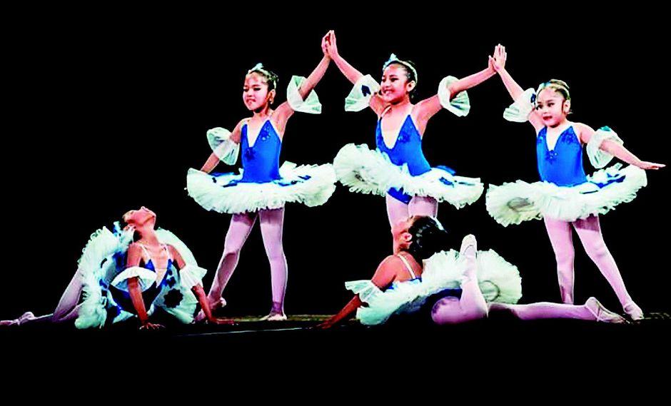 Las niñas y su pasión por el ballet