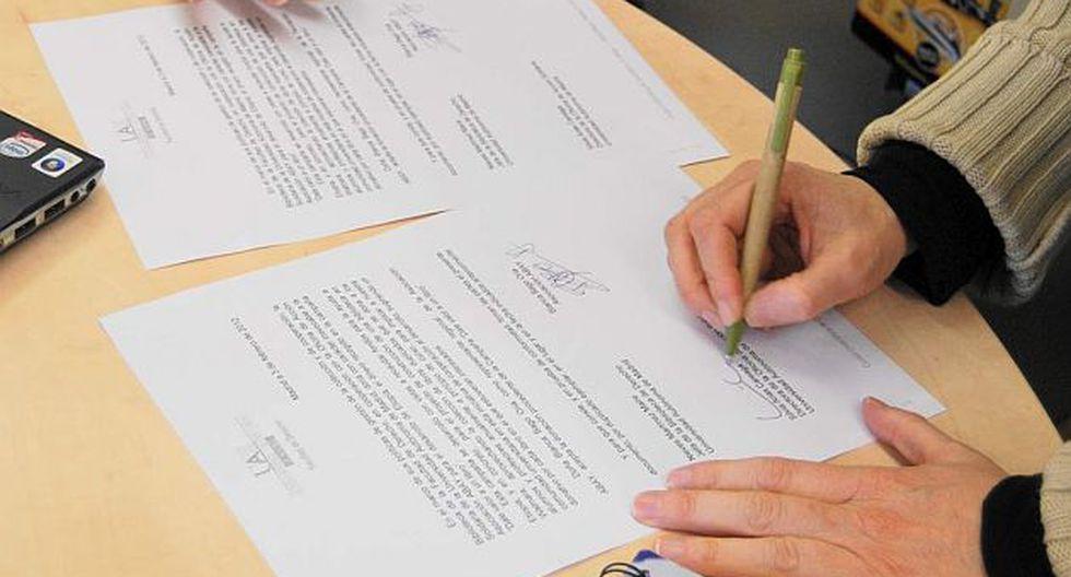 Realizar una carta poder no es nada difícil, pero se necesita ser detallista. (Foto: Internet)