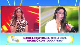 Melissa y Tepha Loza: Así fue su reencuentro en 'Esto es guerra'