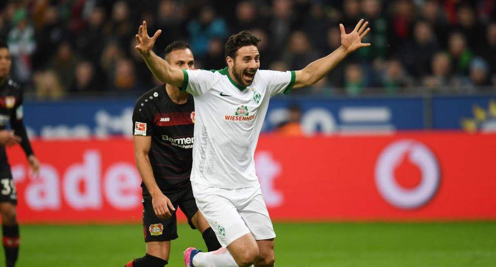 Claudio Pizarro continúa haciendo historia en la Bundesliga. El peruano está en Werder Bremn, pero también dejó huella en Bayern Múnich. Tuvo un paso breve por Colonia. (Foto: AFP)