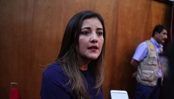 Congresistas de Arequipa no quieren a Yamila Osorio en gabinete