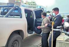 Mujer buscó a esposo por días temiendo lo peor y policía lo encontró ebrio en hotel de Huancayo (VIDEO)