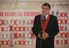 """El Ministerio Público está """"viviendo de limosnas del Ejecutivo"""", según el fiscal Chávez Cotrina"""