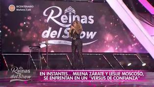 """Gisela Valcárcel sufre percance con su ropa en pleno programa de """"Reinas del Show"""" (VIDEO)"""
