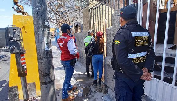 Arequipa: Municipalidad de Arequipa clausura prostíbulo con cuatro sanciones precedentes
