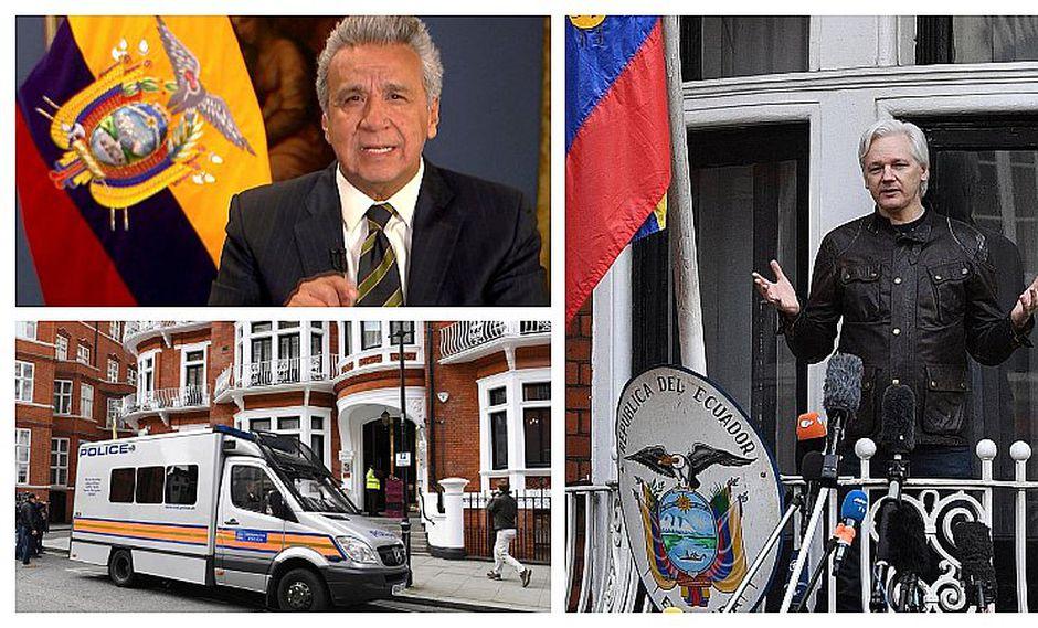 Wikileaks: así fue la forzada detención de Julian Assange de la embajada de Ecuador (VIDEO)