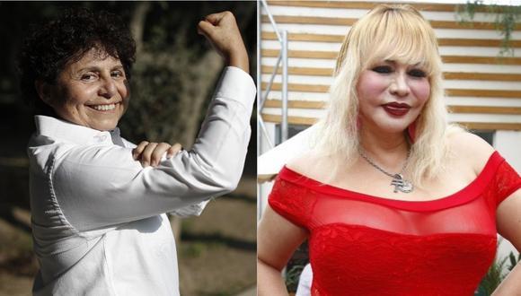 Susel Paredes usa estrategia de Susy Díaz para llegar al Congreso. | Foto: Composición.