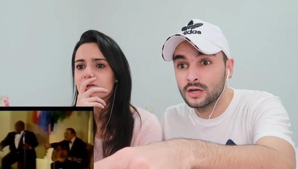 Reacción de youtubers españoles a canción 'Contigo Perú'.   Foto: Composición.