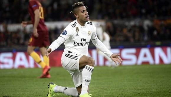 Mariano Díaz llegó al Real Madrid para su segunda etapa en la temporada 2018/19. (AFP)
