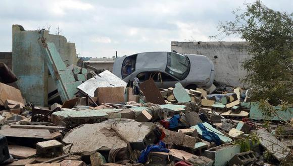 """México: Tornado """"atípico"""" causa 13 muertes y daños en sólo seis segundos"""