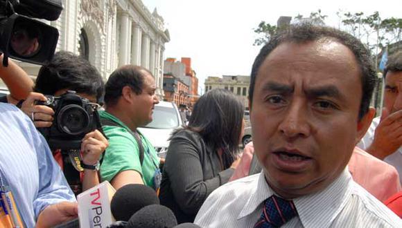 """Gregorio Santos llamó """"traidor"""" al presidente Ollanta Humala"""